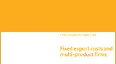 Image for Vaste exportkosten en multi-product bedrijven