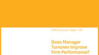 Image for Verbetert het resultaat van ondernemingen door het vervangen van managers?
