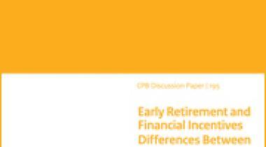 Image for Vervroegde uittreding en financiële prikkels: Verschillen tussen werknemers  met een hoog en een laag loon.