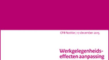 Image for Werkgelegenheidseffecten aanpassing wettelijk minimumjeugdloon