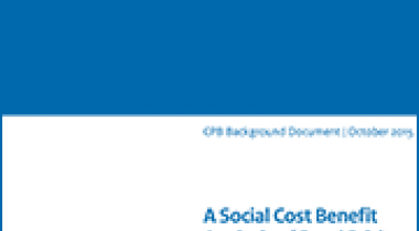 Image for A Social Cost Benefit Analysis of Road Pricing in the Netherlands