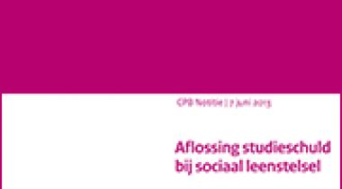 Image for Aflossing studieschuld bij sociaal leenstelsel