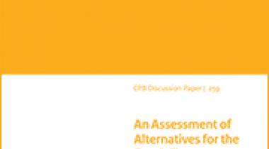 Image for An Assessment of Alternatives for the Dutch First Pension Pillar, The Design of Pension Schemes