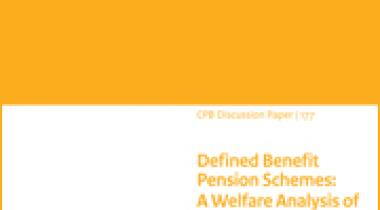 Image for Defined Benefit Pension Schemes: A Welfare Analysis of Risk Sharing and Labour Market Distortions