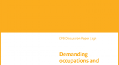 Image for Demanding occupations and the retirement age in the Netherlands