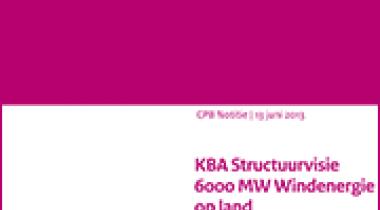 Image for KBA Structuurvisie 6000 MW Windenergie op land