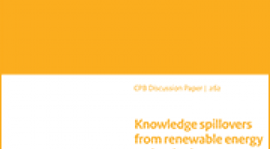 Image for Kennisspillovers van duurzame energietechnologieën, lessen op basis van patentverwijzingen
