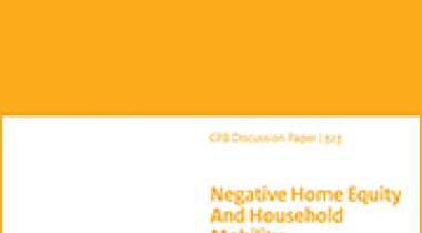 Image for De invloed van onderwaterhypotheken op de mobiliteit van huishoudens