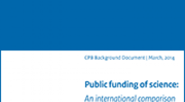 Image for Public funding of science: An international comparison