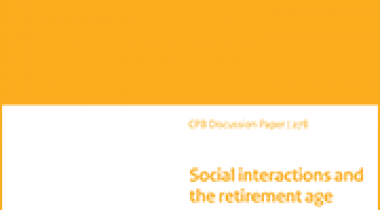 Image for Social interactions and the retirement age