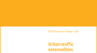 Image for Urban traffic externalities: quasi-experimental evidence from housing prices