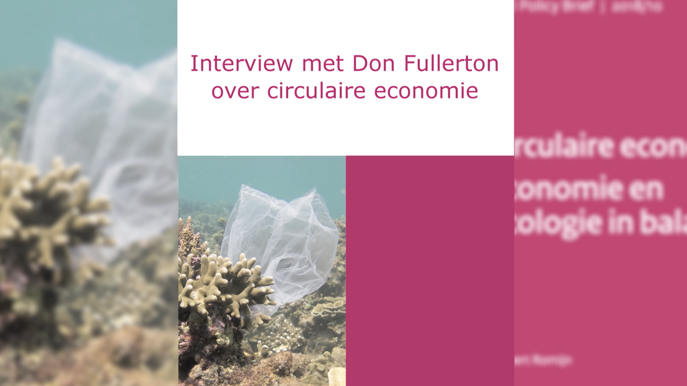 Don Fullerton over circulaire economie
